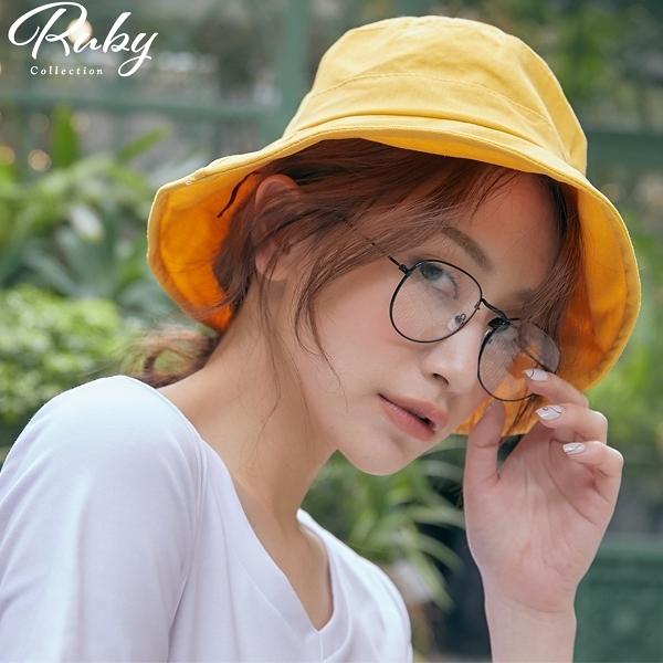 眼鏡 RCha。復古黑框無度數眼鏡-Ruby s 露比午茶