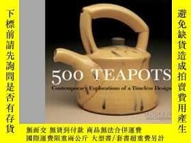 二手書博民逛書店500罕見TeapotsY364682 Suzanne Tourtillott Lark Books,u.s.