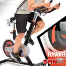 美式後驅動13KG飛輪健身車(13公斤飛輪車美腿機.室內腳踏車自行車推薦哪裡買【SAN SPORTS】