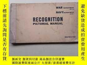 二手書博民逛書店RECOGNITION(PIctorial罕見Manual)Y1