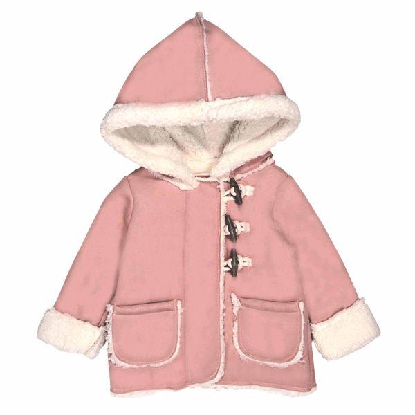 OSHKOSH 保暖禦寒大衣連帽外套 粉紫 | 女寶寶 | 北投之家童裝【OS12075910】