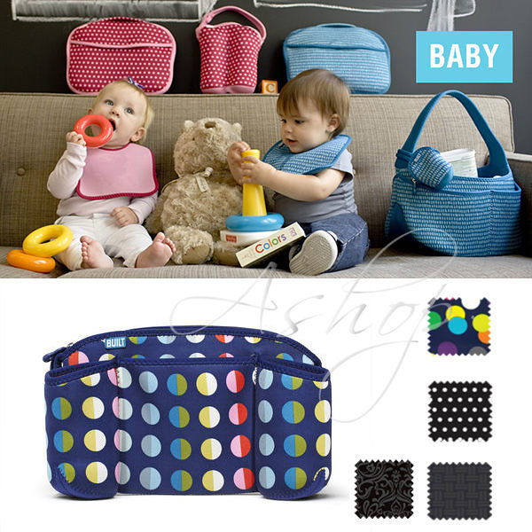 【A Shop】BUILT NY 手推車掛式收納置物袋BBY-DTSO系列-共4色