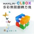 【HANLIN-CLBOX】多彩無限翻轉方塊 舒壓療癒@四保科技
