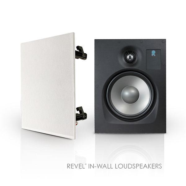 美國 Revel W360 無邊框崁入喇叭
