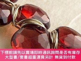 二手書博民逛書店Wrapped罕見in Gems: 40 Elegant Designs for Wire-Wrapped Gem