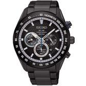 SEIKO 精工錶 Criteria 太陽能 藍寶石水晶鏡面 計時碼錶 SSC591P1 熱賣中!