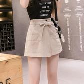 短裙女a字裙半身裙高腰裙子夏季新款顯瘦工裝裙白色時尚裙褲 潮流前線