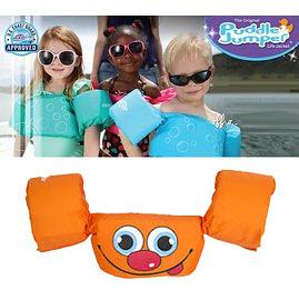 兒童泳衣 浮力夾克 美國學習式救生浮力衣 橘色笑臉 Puddle Jumper 體重:14-23公斤 2-6歲 經典款