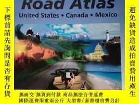 二手書博民逛書店ROAD罕見ATLAS United States Canada