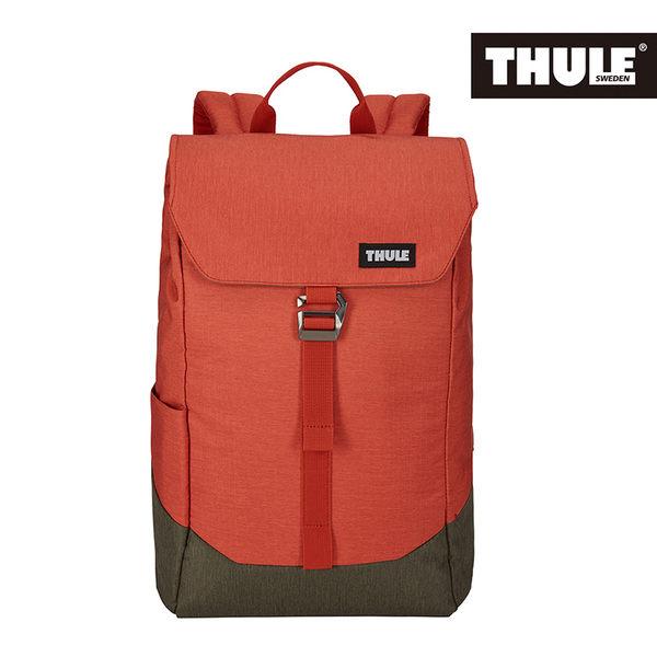 THULE-Lithos 16L筆電後背包TLBP-113-橘紅