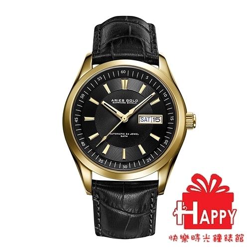 ARIES GOLD 雅力士 PRESIDENT 金X黑色 G 9004 G-BK