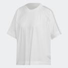 ADIDAS Z.N.E. T-SHIRT 女裝 短袖 慢跑 訓練 透氣 排汗 寬鬆 舒適 白【運動世界】EJ8740