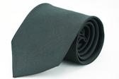 【Alpaca】黑色細斜紋領帶
