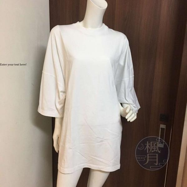 BRAND楓月 BALENCIAGA 巴黎世家 白色 寬鬆 多彩 OVERSIZE T-SHIRT T恤 XS
