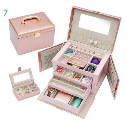 歐式韓國公主首飾盒婚嫁禮物可愛飾品盒收納盒特價首飾盒