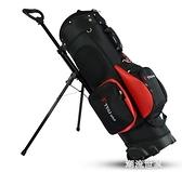 TTYGJ高爾夫球包 拖輪球包 拉桿滑輪雙肩背支架包球袋 標準包 MBS『潮流世家』