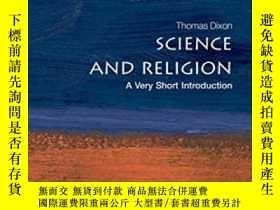 二手書博民逛書店Science罕見And ReligionY364153 Thomas Dixon Oxford Univer