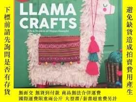 二手書博民逛書店Llama罕見Crafts: Packed Full of In