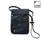 Lewis N. Clark RFID屏蔽掛頸包 1267 海軍藍 / 城市綠洲 (防盜錄、頸部掛袋、旅遊配件、美國品牌)