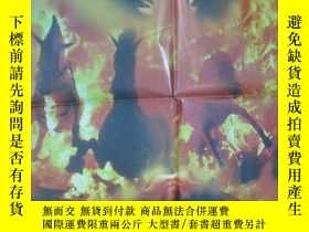 二手書博民逛書店大幅電影海報罕見【悲情布里克】 長103*寬73 G47Y199
