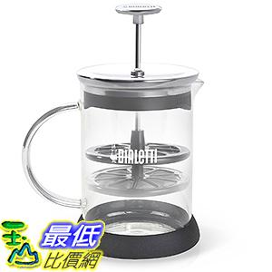 [106美國直購] Bialetti 6703 打奶泡杯 Manual Glass Milk Frother