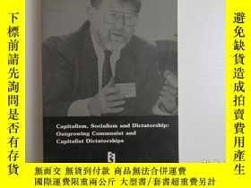 二手書博民逛書店CAPITALISM,SOCIALISM罕見AND DICTATORSHIP OUTGROWING COMMUNI