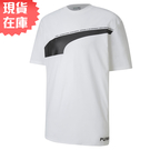 【現貨】PUMA AVENIR 男裝 短袖 短T 休閒 棉質 白 歐規【運動世界】59645702