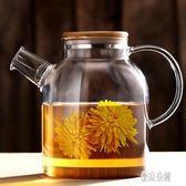 茶壺 透明玻璃煮下午茶茶具水果泡花茶茶壺花茶杯水壺套裝家用 CP1663【優品良鋪】