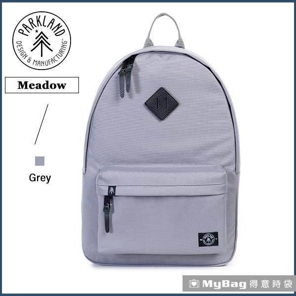 Parkland 後背包 灰色 電腦後背包 多功能休閒背包 Meadow-041 MyBag得意時袋