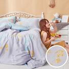 床包兩用被組 / 雙人加大【珊朵拉】含兩件枕套 100%天絲 戀家小舖台灣製AAU315