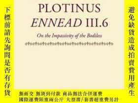 二手書博民逛書店Ennead罕見Iii.6Y364682 Plotinus Clarendon Press 出版1995