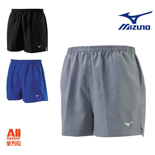 【Mizuno美津濃】中性款慢跑褲 無內襯 三色- 灰/黑/藍(J2TB8A)全方位跑步概念館