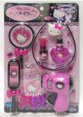 【震撼精品百貨】Hello Kitty_凱蒂貓~三麗鷗 KITTY 髮妝玩具組(吹風機/美髮/化妝/美妝玩具組)#12283