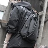 側背包男斜背包潮牌學生休閒胸包運動男士包包多功能背包韓版R1R0 夏季狂歡