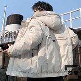 羽絨服輕薄男士外套韓版短款加厚青少年冬裝【左岸男裝】