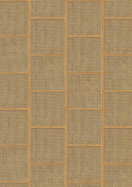 編織紋 藤編織圖案 木紋壁紙 仿真 荷蘭壁紙 5色可選 NLXL CANE WEBBING / VOS-15