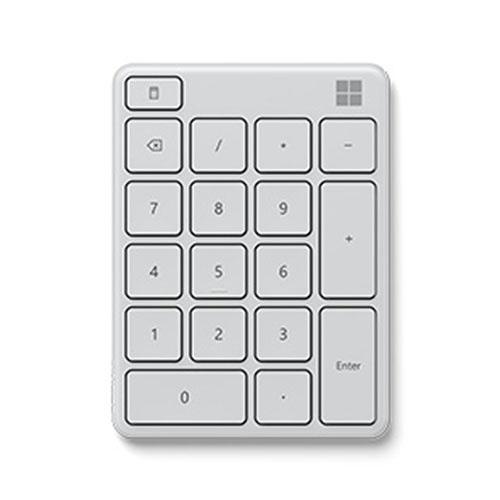 Microsoft 微軟 藍牙數字鍵盤 月光灰 23O-00019