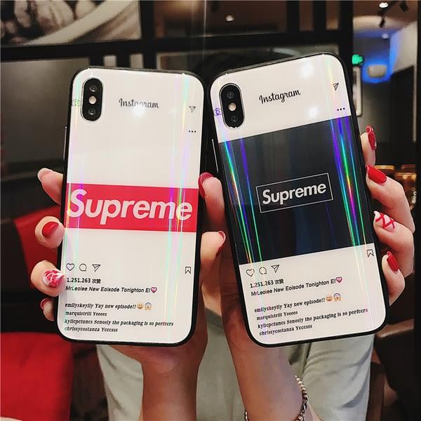 【SZ41】歐美潮牌supreme iphone XS MAX手機殼 iphone XR XS手機殼 iphone 8plus手機殼 i6s plus手機殼 iphone X