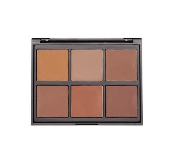 美國 Morphe 06PW - WARM PRO DEFINITION PALETTE 打亮修容盤