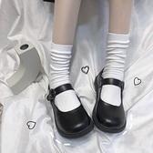 軟妹可愛小皮鞋日系圓頭女學生百搭娃娃鞋平底學院風JK鞋子制服鞋 【年貨大集Sale】