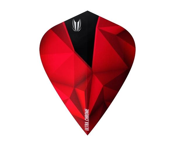 【TARGET】SHARD ULTRA CROME KITE Crimson 333090 鏢翼 DARTS