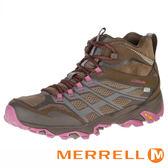 MERRELL MOAB FST GORETEX 多功能健行鞋 棕粉 防水│登山│耐磨│運動│休閒 ML37134 女鞋