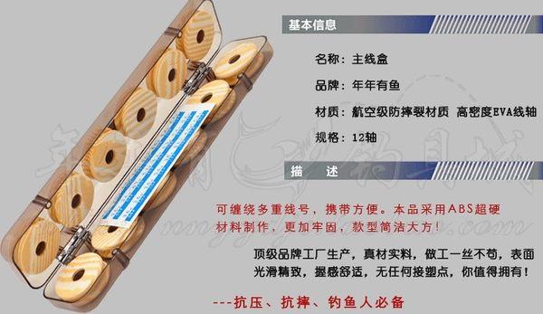 [協貿國際]  高檔12軸主線盒配件盒