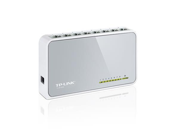 [哈GAME族] 刷卡+免運 TP-LINK TL-SF1008D 8埠 10/100Mbps 桌上型交換器 乙太網路 交換器 HUB