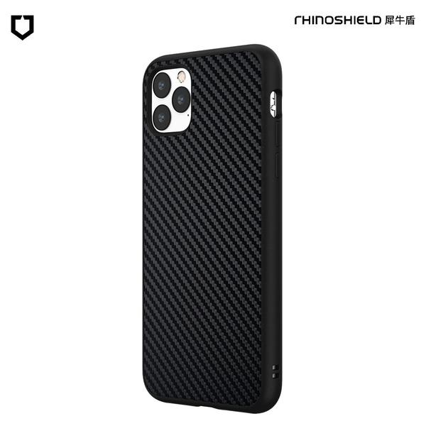 犀牛盾SolidSuit碳纖維防摔背蓋手機殼 - iPhone 11 Pro Max