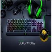 【綠蔭-免運】雷蛇Razer BlackWidow 黑寡婦蜘蛛【黃軸】 機械式RGB鍵盤