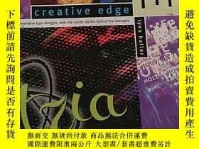 二手書博民逛書店creative罕見edge type 創意邊緣類型 英文原版Y