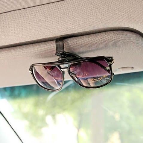 車用眼鏡架 遮陽板眼鏡夾 多用途眼鏡夾 太陽眼鏡夾 汽車精品票據夾 多功能固定夾【4G手機】