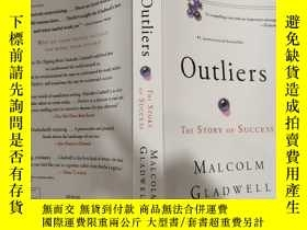 二手書博民逛書店outliers罕見the story of success 成功的故事Y200392