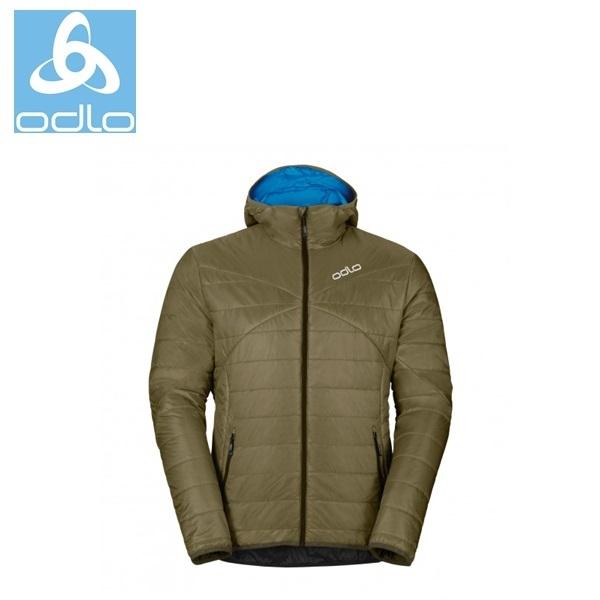 【速捷戶外】《瑞士ODLO》525162 primaloft防風防潑水保暖外套-男 軍綠/鈷藍